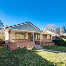 Rental info for 145 North Downing Street in the Denver area