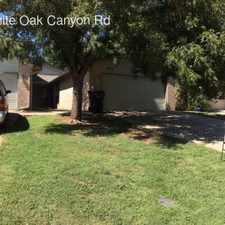 Rental info for 10411 White Oak Canyon Rd in the 73162 area