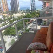 Rental info for 230 174th Street #1407 in the Sunny Isles Beach area