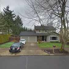 Rental info for Single Family Home Home in Beaverton for For Sale By Owner in the South Beaverton area