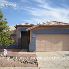 Rental info for 11243 W. Orchid Ln.