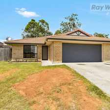 Rental info for Generous 4 Bedroom Family Home in the Goodna area