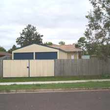 Rental info for QUIET STREET WITH LARGE DOUBLE BAY SHED in the Berrinba area