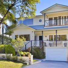 Rental info for QUALITY FAMILY HOME IN QUIET LOCATION in the Narrabeen area