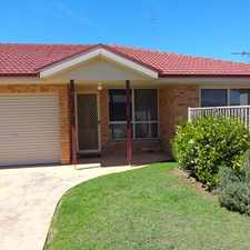 Rental info for VERY TIDY 2 BEDROOM DUPLEX in the Cessnock area