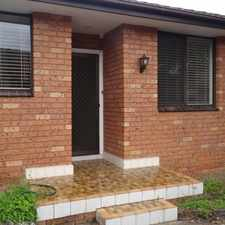 Rental info for PRIVATE & PEACEFUL 3 BEDROOM VILLA in the Sydney area