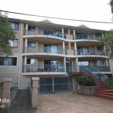 Rental info for IN THE MIDDLE OF IT ALL in the Merrylands area