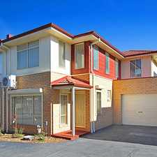 Rental info for Quality as New Townhouse in the Melbourne area