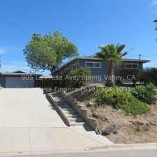 Rental info for 905 La Presa Avenue in the Spring Valley area