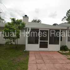 Rental info for Spacious home! With fenced in backyard and screened in patio.