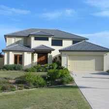 Rental info for WATERFRONT HOME WITH POOL & PONTOON IN GRACEMERE in the Coomera area