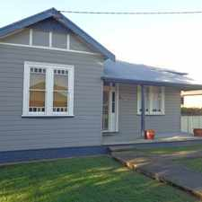Rental info for A PLACE TO CALL HOME in the Cessnock area