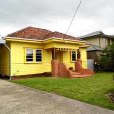 Rental info for WALK TO CBD FURNISHED CHARMING CALIFORNIAN BUNGALOW in the Traralgon area