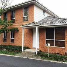 Rental info for Lovely Modern Townhouse in the Chadstone area
