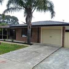 Rental info for SIMPLY BREATHTAKING in the Perth area