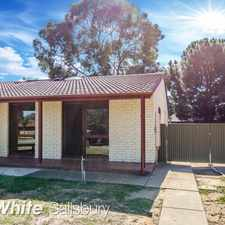 Rental info for Spacious and in a great location! in the Parafield Gardens area