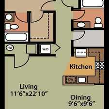 Rental info for Convenient location 1 bed 1.50 bath for rent