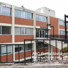 Rental info for 2801 North 7th Street in the Wausau area