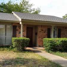 Rental info for 972-299-8199 Call now to schedule viewing! in the Garland area