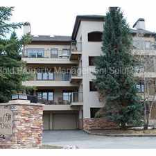 Rental info for REMODELED EAGLE-VAIL CONDO