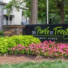 Rental info for The Parke At Trinity