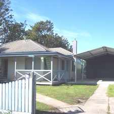 Rental info for CLOSE TO CBD WITH HIGH CLEARANCE CARPORT AND HUGE GARAGE in the Traralgon area