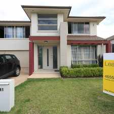 Rental info for Large family home with all the extras in the Sydney area