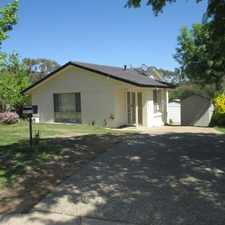 Rental info for Family Home in great location! in the Canberra area