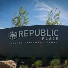 Rental info for Republic Place