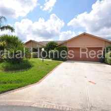 Rental info for Canal pool home in Palm Harbor!