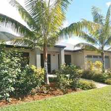 Rental info for EXECUTIVE HOME - GARDEN MAINTENANCE INCLUDED **BREAK LEASE - REDUCED RENT** in the Cairns area