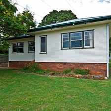 Rental info for EAST TOOWOOMBA HOME FULL OF CHARACTER AND CHARM - new curtains to compliment. in the Toowoomba area