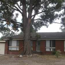 Rental info for Family Home In A Quiet Street in the Bomaderry area