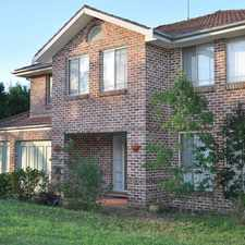 Rental info for 'Spacious Family Home' in the Kellyville area