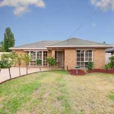 Rental info for GREAT FAMILY HOME in the Roxburgh Park area