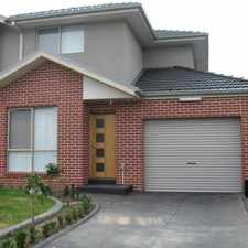 Rental info for WELL PRESENTED TOWNHOUSE WITH OWN DRIVEWAY in the Clayton area