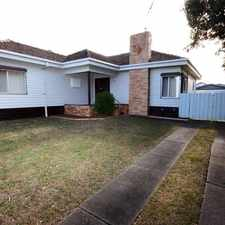Rental info for Updated Family Home in the Geelong area