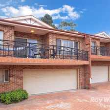 Rental info for 2 BEDROOM WITH DOUBLE GARAGE in the Sydney area