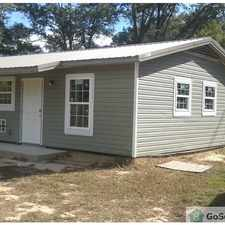 Rental info for Inside Laundry,All Electric,Great AC,Nice Kitchen,Full Shower Tub, Forever Hot Water,New Construction,Ceiling Fans Everywhere,Heavy Insulation,Front and Back Porches,Double Insulated Windows, Near Fast Food,Interstate 10,Walmart,Rouses in the Tillmans Corner area