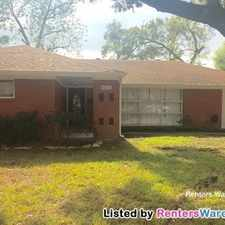Rental info for 6213 Tanager St in the Houston area