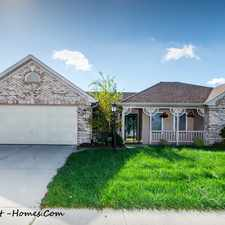 Rental info for 7943 Shannon Lakes Way in the 46217 area