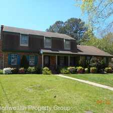 Rental info for 605 Lord Dunmore in the Virginia Beach area