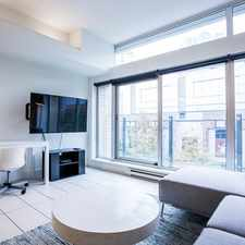 Rental info for W Pender St & Carrall St in the Vancouver area