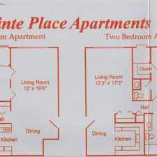 Rental info for Point Place Apartments