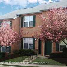 Rental info for Village at England Run Townhomes 101 England Pointe Drive