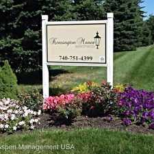 Rental info for Kensington Manor PO Box 921 in the Marion area