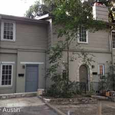 Rental info for 803 East 32nd Street in the Austin area