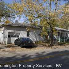 Rental info for 526 E University St in the Bloomington area
