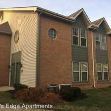 Rental info for 2500 Water's Edge Blvd in the Southeast Columbus area