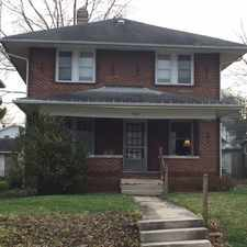 """Rental info for 1407 S. Washington Downstairs Apt.""""A"""" in the 47405 area"""